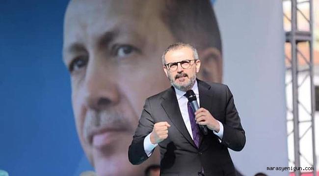 """Mahir Ünal, """"Devleti Bu Milletin Seçtiği Recep Tayyip Erdoğan Yönetecek"""""""