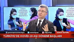 """MHP'li Aycan, """"25 Milyon Kişiye Çok Hızlı Bir Şekilde Aşı Yaparsak Salgını Önleriz"""""""