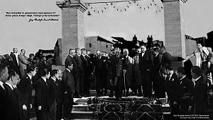 """Sanko Sanat Galerisi'nde """"Etem Çalışkan Çizgileriyle"""" Atatürk Portreleri Sergisi Açıldı"""