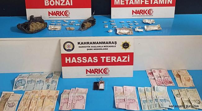 Uyuşturucu Tacirlerinin Evine Şok Baskın 4 Tutuklama