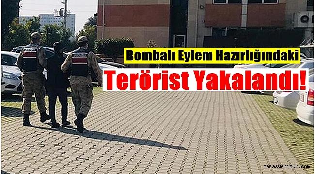 Bombalı Eylem Hazırlığındaki Terörist Yakalandı!