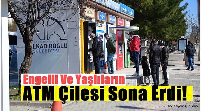 Engelli Ve Yaşlıların ATM Çilesi Sona Erdi!
