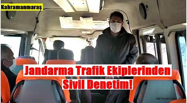 Jandarma Trafik Ekiplerinden Sivil Denetim!