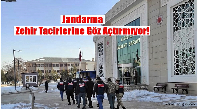 Jandarma Zehir Tacirlerine Göz Açtırmıyor!