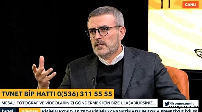 """Mahir Ünal, """"Türkiye'nin En Önemli Ruh Ocaklarından Birisidir Kahramanmaraş"""""""