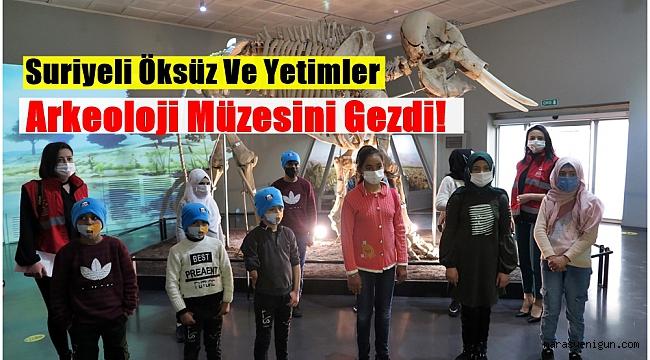 Suriyeli Öksüz Ve Yetimler Arkeoloji Müzesini Gezdi!