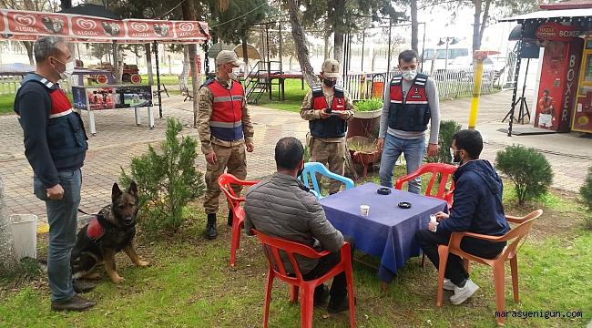 Kahramanmaraş'ta 'Narkotik ve Huzurlu Sokaklar' Uygulaması