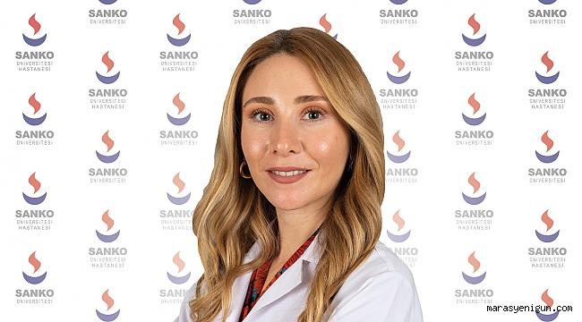 Psikolog Işıl Afat, Sanko Üniversitesi Hastanesi'nde