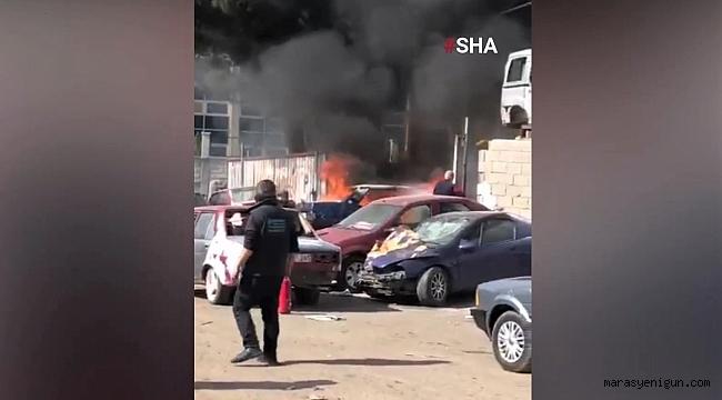 Kahramanmaraş'ta Park Halindeki Otomobil Alev Topuna Döndü