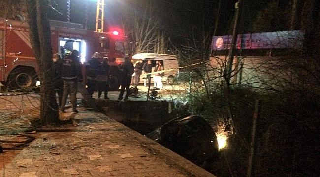 Kahramanmaraş'ta Su Kanalına Düşen Otomobil Sürücüsü Öldü