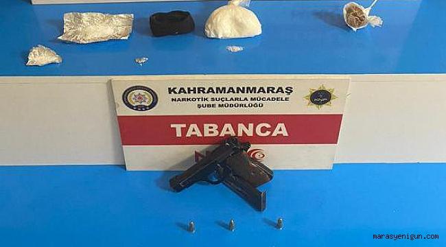 Kahramanmaraş'ta Uyuşturucu Satıcısı 3 Kişi Tutuklandı