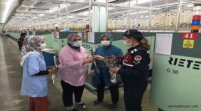 Fabrikada Çalışan İşçiler Unutulmadı