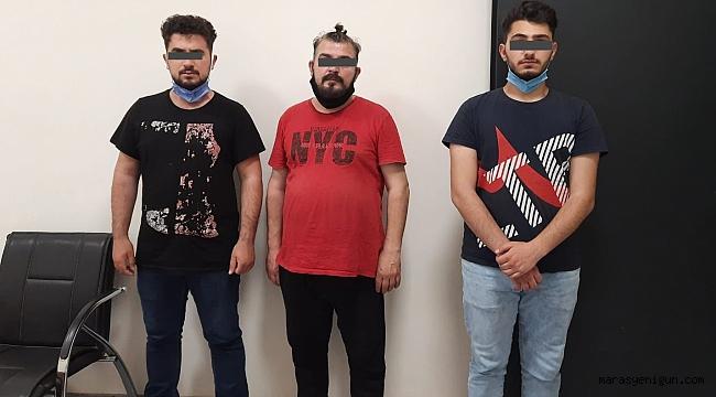 Kahramanmaraş'ta Maaşlı Dolandırıcılar Yakalandı