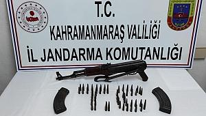 Kahramanmaraş'ta Uzun Namlulu Silah Ele Geçirildi