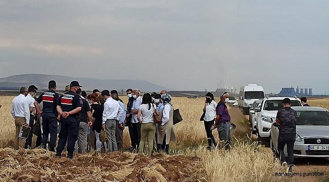 Afşin C Termik Santrali'ne Bölge Halkı Karşı Çıktı