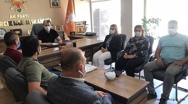 Anadolu Kahramanmaraş Şehit ve Gazi Aileleri Derneği'nden seri ziyaret