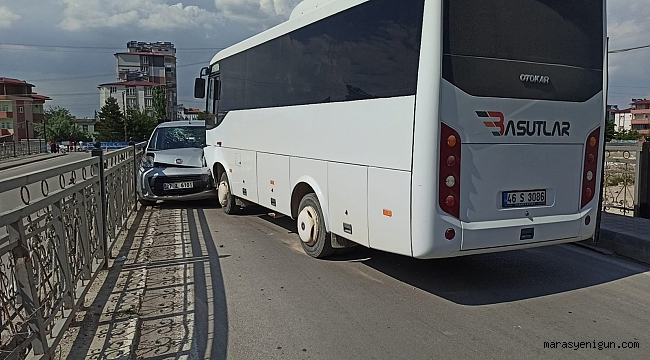 Elbistan'da Trafik Kazasında 3 Kişi Yaralandı