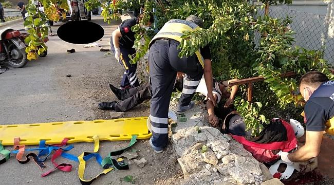 Motosikletle Kazasında Ölü Sayısı 2'e Çıktı