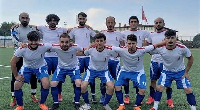 Kahramanmaraş işitme engelli futbol takımı 1. Lig'e yükseldi