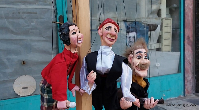 Kahramanmaraş'ta Kukla Gösterisi Eğlendirdi