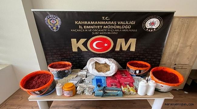 Kahramanmaraş'ta Nargile Tütünü Operasyonu
