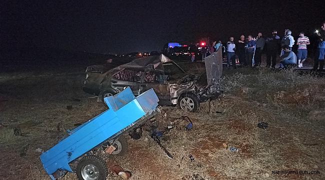 Kahramanmaraş'ta Feci Kaza: 3 Ölü 2 Yaralı