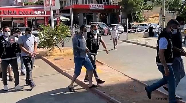 Kahramanmaraş'ta Uyuşturucudan 3 Kişi Tutuklandı