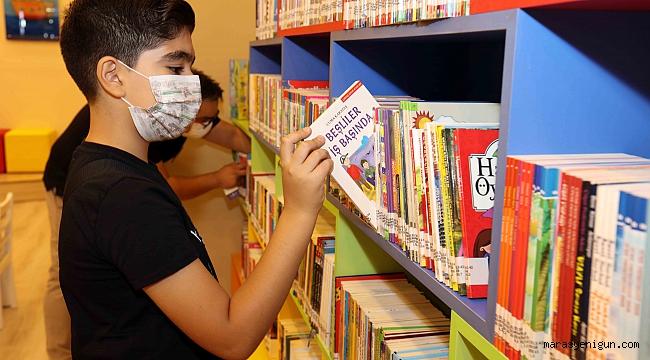 Türkiye'nin İlk Avm Çocuk Kütüphanesi Yoğun ilgi Görüyor
