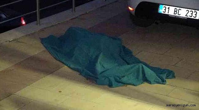 Kahramanmaraş'ta Apartmanın 5'inci Katından Düşen Kadın Hayatını Kaybetti.