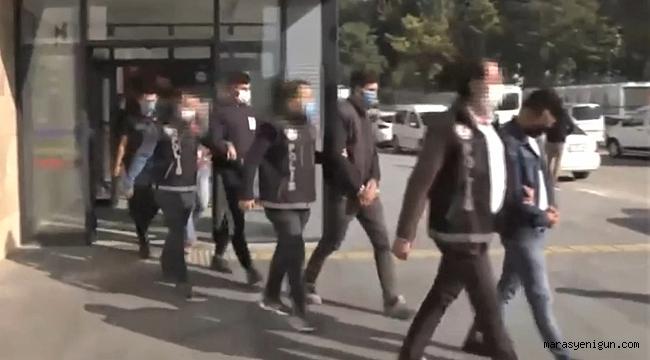 Kahramanmaraş'ta Özel Harekat Destekli 'Şafak' Operasyonu