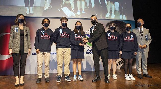 Sanko Okulları'nın Tübitak Başarısı Ödüllendirildi