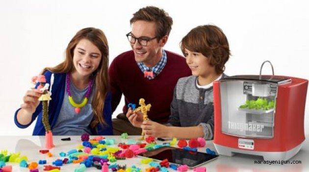 Artık dilediğiniz oyuncağı evinizde üretebileceksiniz!