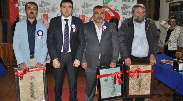Kent Göksun'dan Başkan Aydın'a Plaket