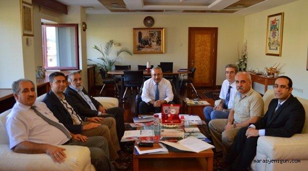 TEKNOKENT Yönetim Kurulu Üyeleri Rektör Deveci'yi Ziyaret Etti