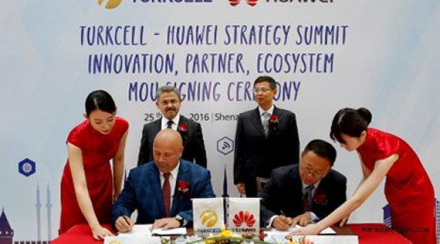 Turkcell Ve Huawei'den Dev Ar-Ge İşbirliği